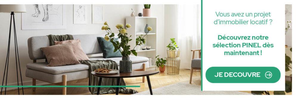 Vous souhaitez investir dans l'immobilier neuf découvrez notre sélection pinel