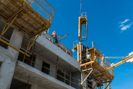 Construction immeuble logement neuf