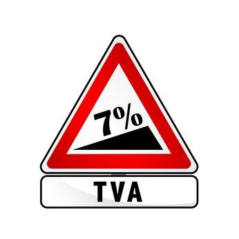Augmentation de la TVA à 7%, dans le cadre d'un investissement en zone ANRU