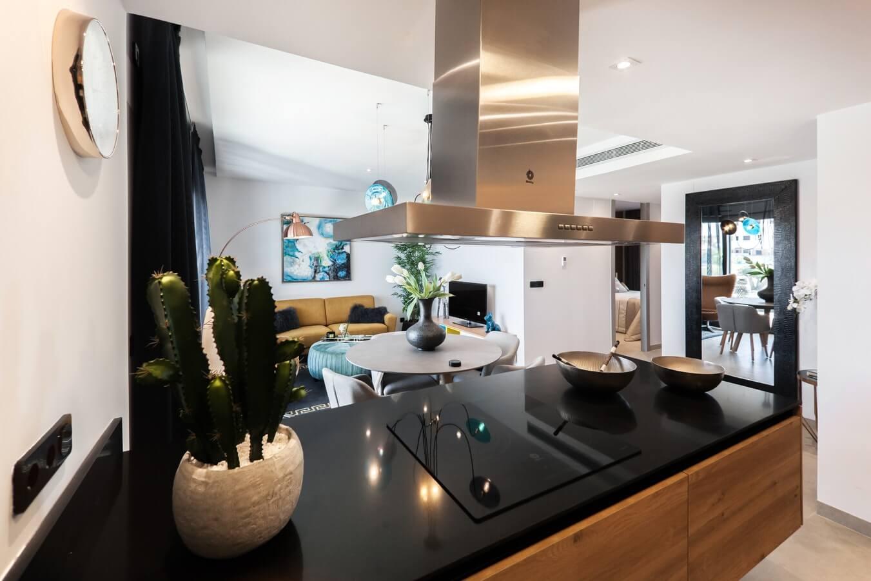 Cuisine dans logement neuf